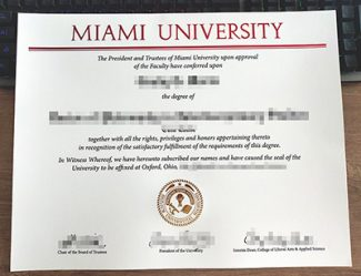 Miami University diploma, fake Miami University degree, Miami University certificate,