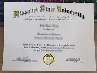 Missouri State University degree, fake MSU diploma, Missouri State University certificate,