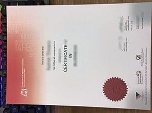 North Metropolitan TAFE certificate, fake TAFE certificate, Australian TAFE certificate,