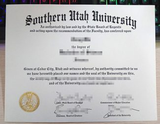 Southern Utah University diploma, fake SUU diploma, buy Southern Utah University degree,