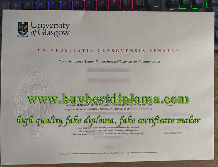 fake University of Glasgow degree, buy University of Glasgow certificate, University of Glasgow diploma,