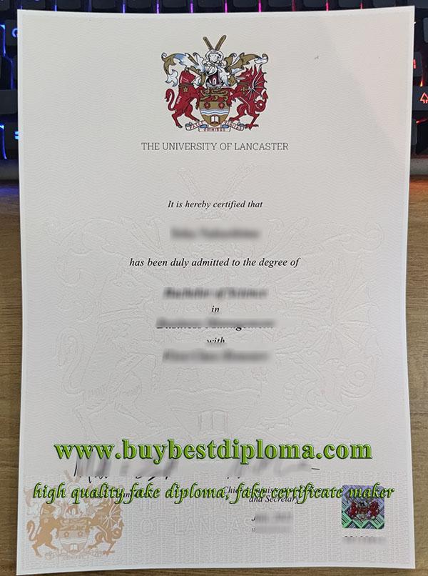 Lancaster University degree, fake Lancaster University diploma, University of Lancaster degree,