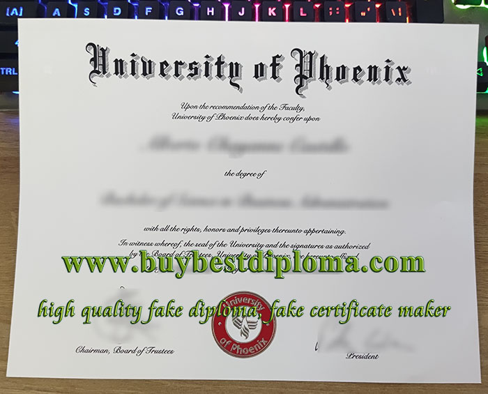 University of Phoenix diploma, University of Phoenix degree, University of Phoenix certificate,
