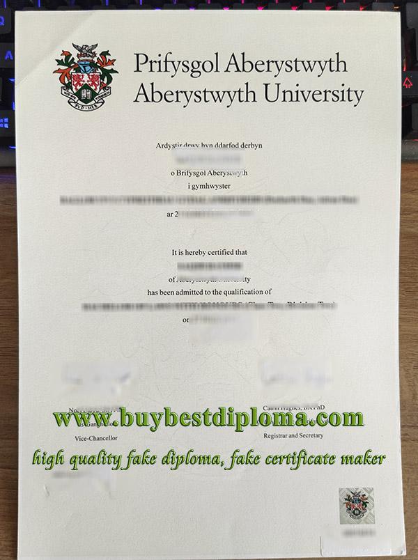 Aberystwyth University degree, Aberystwyth University diploma, Prifysgol Aberystwyth degree,