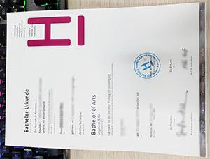 Hochschule Hannover urkunde, Hannover University diploma, Hochschule Hannover certificate,