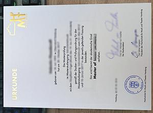 Hochschule für Musik und Theater urkunde, HfMT Hamburg diploma, Hamburg University of Music diploma,