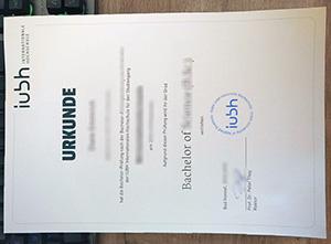 IUBH Internationale Hochschule diploma, IUBH Internationale Hochschule urkunde, IUBH International University degree,