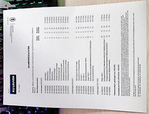 KU Leuven transcript, Katholieke Universiteit Leuven transcript, fake KU Leuven diploma,