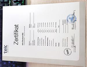 The European Language Certificates, TELC certificate, TELC Zertifikat, TELC B2 certificate,
