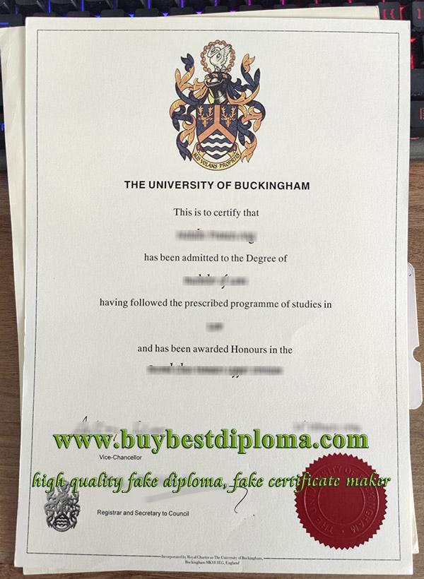 University of Buckingham degree, University of Buckingham diploma, fake University of Buckingham certificate,