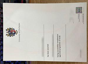 University of Chichester degree, University of Chichester diploma, fake University of Chichester certificate,