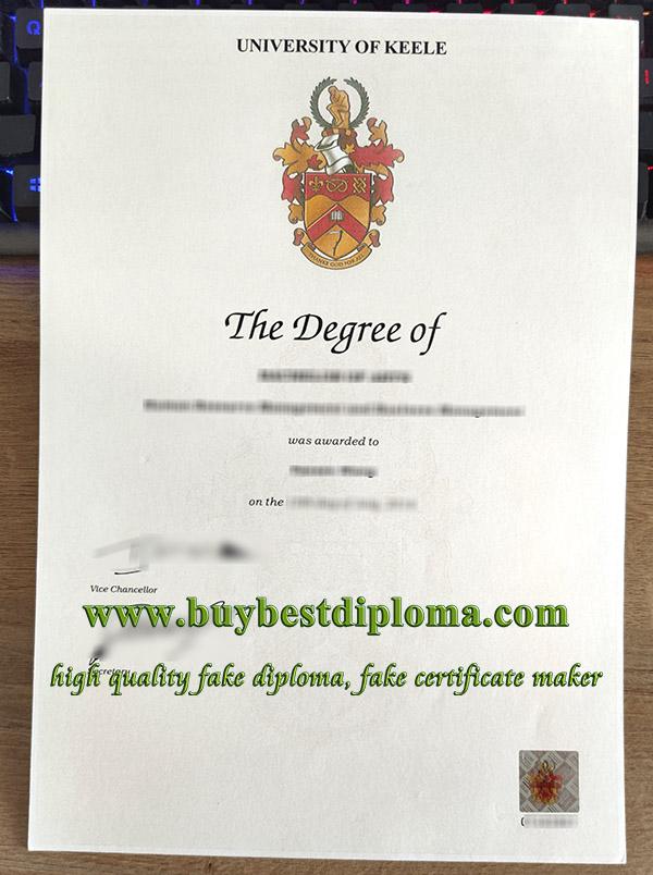 Keele University degree, University of Keele diploma, fake Keele University certificate,