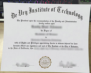 DeVry Institute of Technology diploma, fake Devry University diploma, DeVry Institute of Technology certificate,