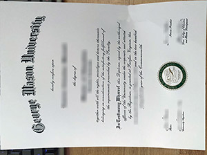 George Mason University diploma, fake GMU degree, buy George Mason University certificate,