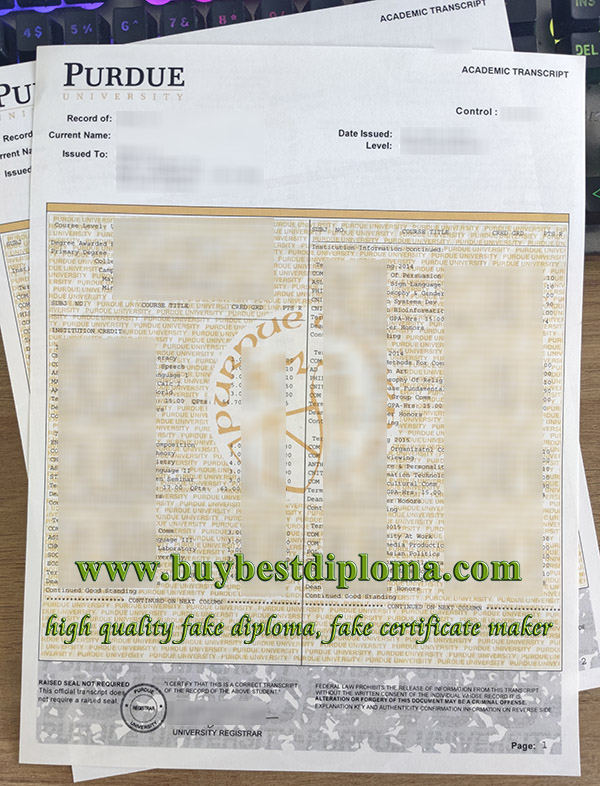 Purdue University transcript, fake Purdue University diploma, fake Purdue University degree,