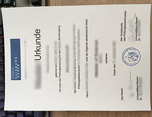 Universität Duisburg Essen urkunde, Universität Duisburg Essen diploma, University of Duisburg-Essen certificate,