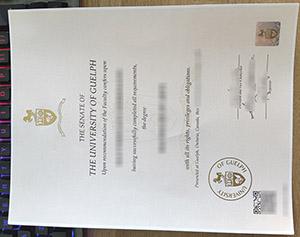 University of Guelph diploma, University of Guelph degree, University of Guelph certificate,