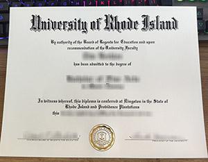 University of Rhode Island diploma, University of Rhode Island degree, fake URI diploma,