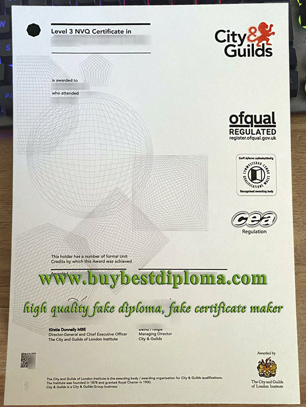 City & Guilds NVQ certificate, fake City & Guilds certificate, buy NVQ certificate,