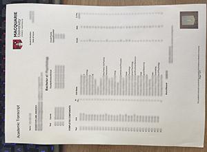 Macquarie University transcript, Macquarie University certificate, fake Academic transcript,