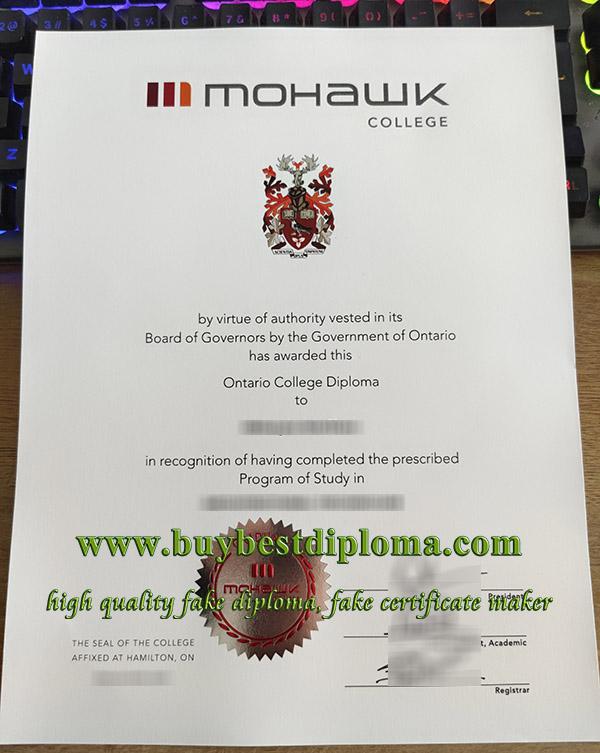 Mohawk College diploma, Mohawk College degree, Mohawk College certificate, 莫霍克学院毕业证,