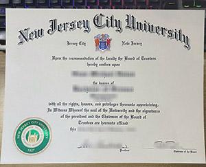 New Jersey City University diploma, fake NJCU certificate, New Jersey City University degree,