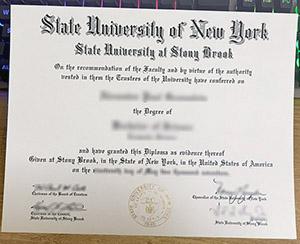 Stony Brook University diploma, SUNY at Stony Brook certificate, fake Stony Brook University SUNY degree,