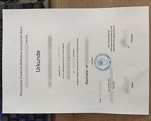 Universität Bonn urkunde, University of Bonn diploma, Universität Bonn certificate, 波恩大学学历证书,