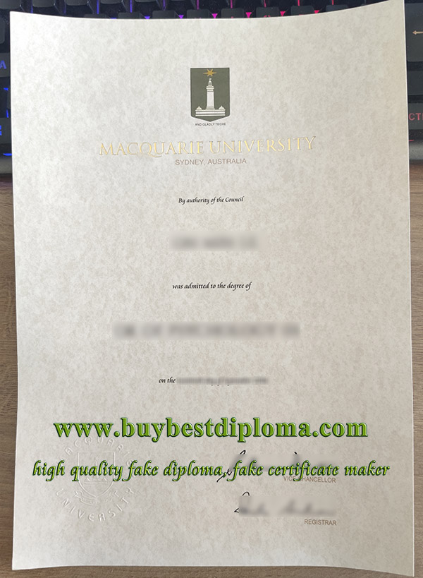 Macquarie University degree, Macquarie University diploma, Macquarie University certificate,