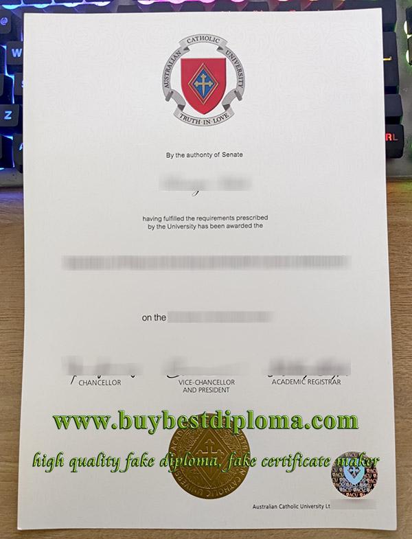 Australian Catholic University degree, Australian Catholic University certificate, Australian Catholic University diploma, 澳洲天主教大学文凭,
