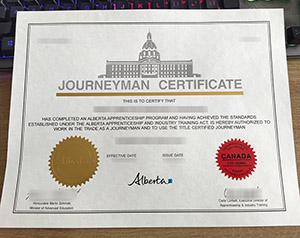 Journeyman Certificate, Canada Journeyman Certificate, Canada Occupational Certificate,