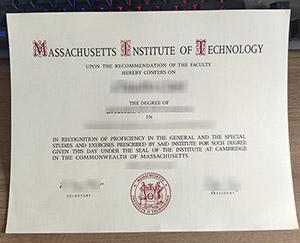 Massachusetts Institute of Technology diploma, Massachusetts Institute of Technology certificate, fake MIT diploma, 麻省理工学院毕业证,