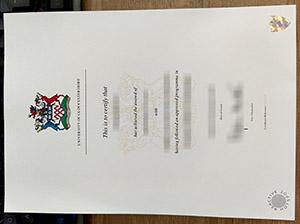 University of Gloucestershire degree, University of Gloucestershire diploma, University of Gloucestershire certificate, 格罗斯特郡大学毕业证,