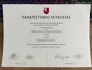 University of Nicosia diploma, University of Nicosia degree, University of Nicosia certificate, 尼科西亚大学毕业证,