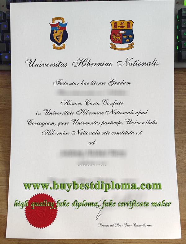 National University of Ireland degree, fake NUI certificate, fake National University of Ireland diploma, 爱尔兰国立大学毕业证,