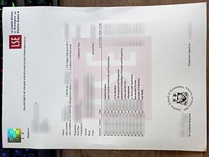 London School of Economics transcript, London School of Economics certificate, fake LSE transcript, 伦敦政治经济学院成绩单,