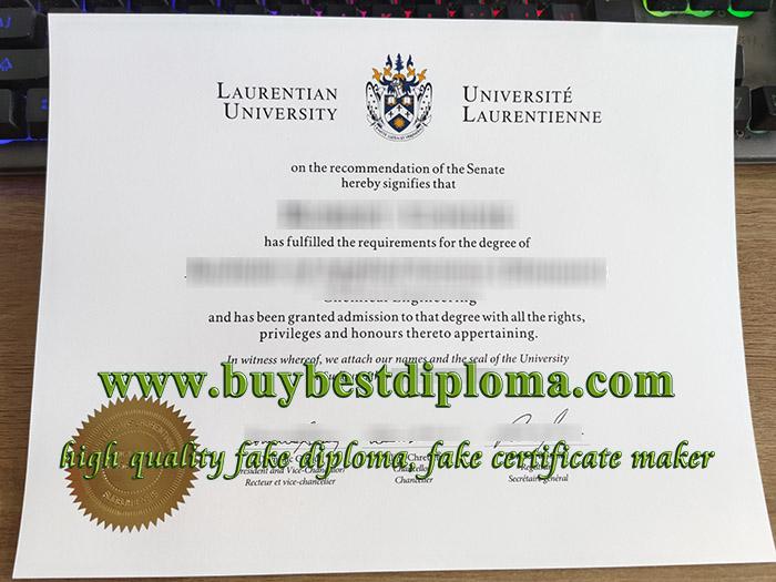 Laurentian University diploma, Laurentian University degree, Laurentian University certificate, 劳伦森大学毕业证,