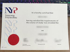 Nanyang Polytechnic degree, Nanyang Polytechnic diploma, fake NYP diploma, 南洋理工学院文凭,