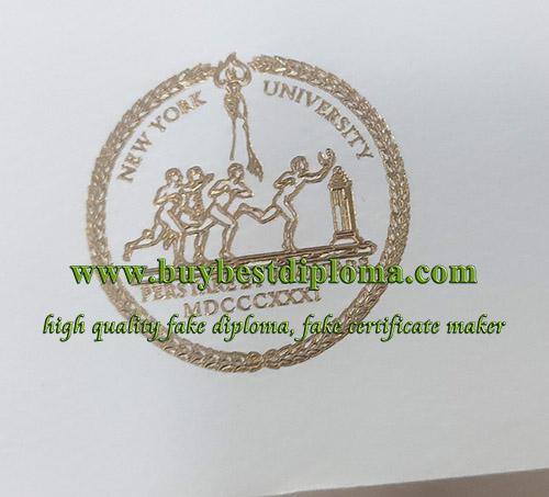 NYU diploma emblem, NYU certificate seal, NYU gold seal,