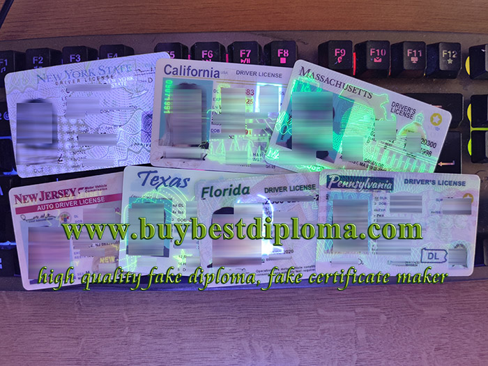 US state driver license, detectable USA driving license, California driver license, 高仿美国驾照,