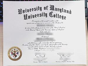 University of Maryland University College diploma, fake UMUC certificate, University of Maryland University College degree, 马里兰大学学院毕业证,
