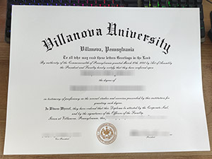 Villanova University diploma, Villanova University degree, fake Villanova University certificate, 维拉诺瓦大学毕业证,