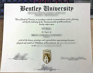 Bentley University diploma, Bentley University degree, Bentley University certificate, 本特利大学毕业证,