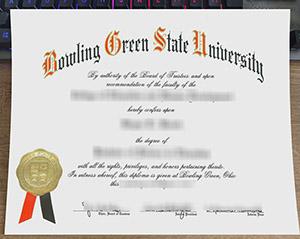 Bowling Green State University diploma, Bowling Green State University degree, fake Bowling Green State University certificate, 博林格林州立大学毕业证,