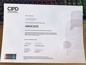 CIPD certificate, fake CIPD diploma, CIPD associate certificate, Chartered Institute of Personnel and Development certificate,
