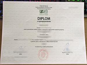 Czech University of Life Sciences Prague diplom, Česká zemědělská univerzita v Praze diplom, fake CZU degree,