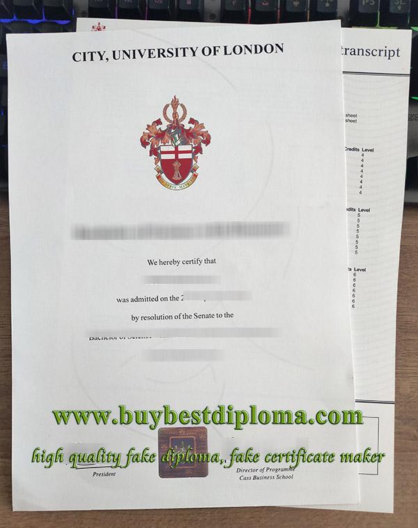 City University Of London degree, City, University Of London transcript, fake CUL degree with transcript, 伦敦城市大学证书,