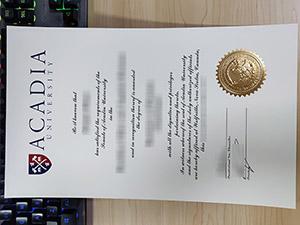 Acadia University diploma, Acadia University degree, Acadia University certificate, 阿卡迪亚大学文凭,