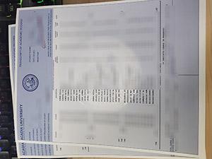 Acadia University transcript, Acadia University certificate, fake transcript, 阿卡迪亚大学成绩单,