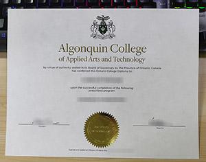 Algonquin College diploma 2021, Algonquin College degree, Algonquin College certificate,